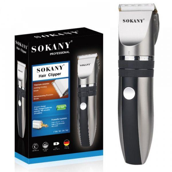 თმის საჭრელი Sokany sk-742